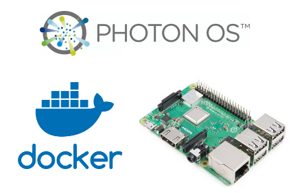 Docker + Raspberry Pi = Photon OS