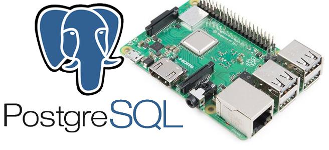 PostgreSQL container on Raspberry